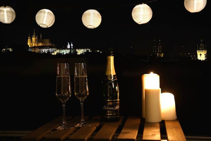 ❤❤❤ Prague View Apartment ❤❤❤ + OMG terrace !!!