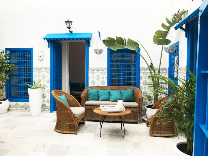 Maison traditionnelle Sidi Bou Said