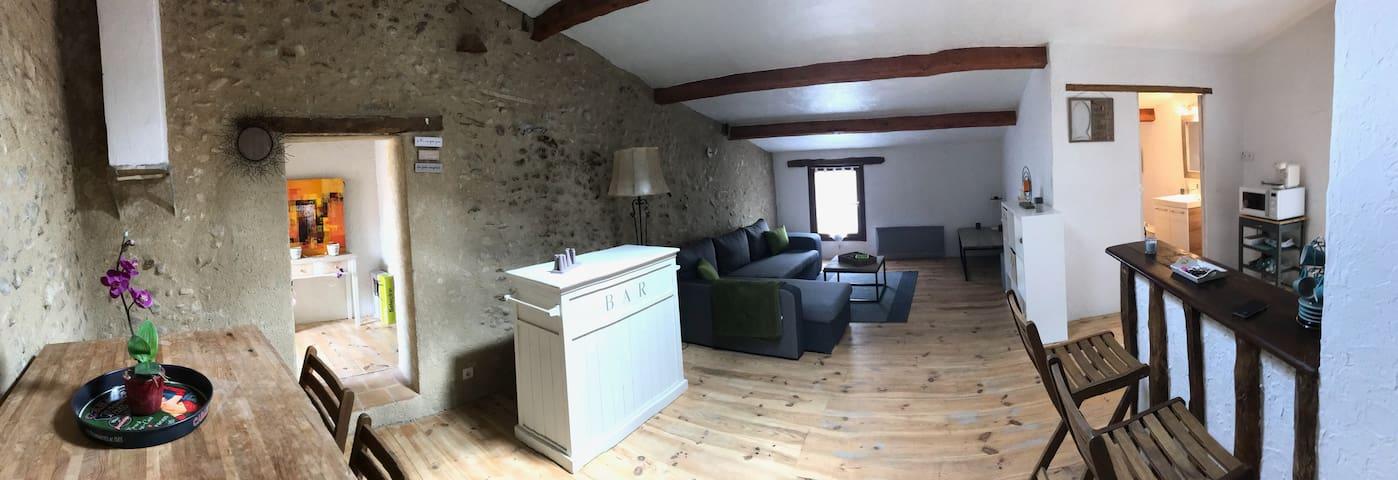 Appartement de charme, lumineux avec terrasse