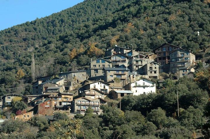 Accueillant gîte indépendante, 21 km d'Andorre.