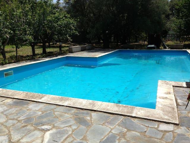 Villa con piscina - Castena delle Furie - Castanea delle Furie - Casa de campo