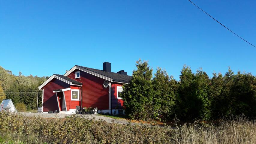 Small apartment in a Country House in Krokedal