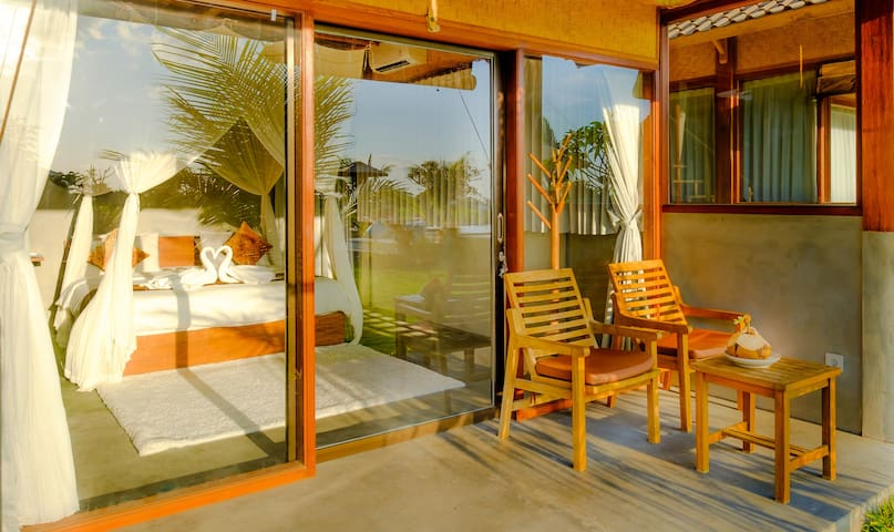Drupadi Canggu Wooden Green Paradise Bungalow