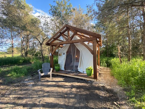 Brand Glamping Tent, Hepworth, 3 Wooded Acres