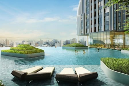 Brand New,Near Subway Center Bangkok,Pool, - Μπανγκόκ - Διαμέρισμα