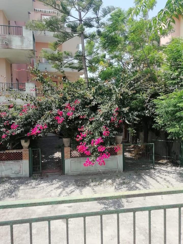 Casa Lamanna palazzo rosa
