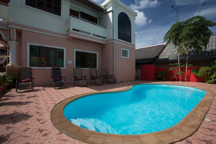 A #low cost #double room #friendly people #pool