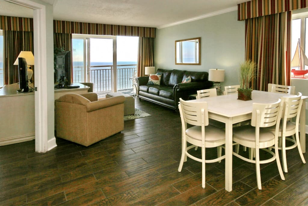 Direct Oceanfront 3 Bedroom 2 Bath Condo GreatView Condominiums For Rent In