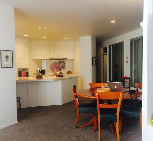 Modern, luxury, Inner city apartment - Wellington