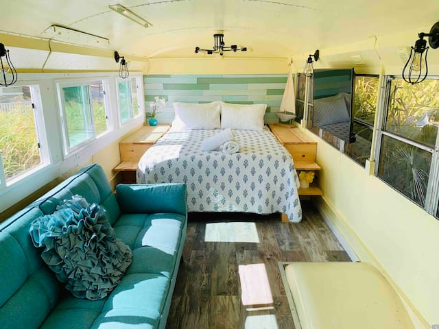 Aloha, The Bus! - North Shore School Bus/Tiny Home