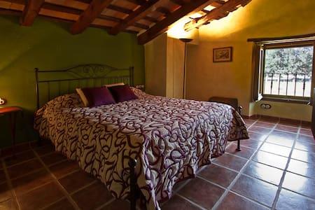 Alojamiento rural. 1 habitacion doble con baño - Cornellà del Terri
