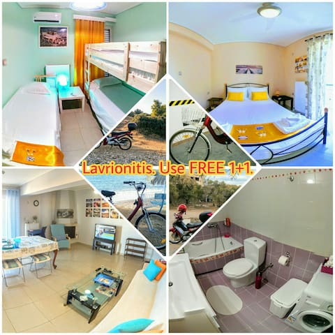 LAVRIONitis Apartments, 7 km from Sounion