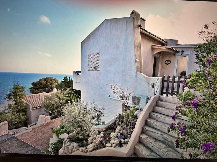 Corse-Tarco Villa casa vista mare  vue panoramique