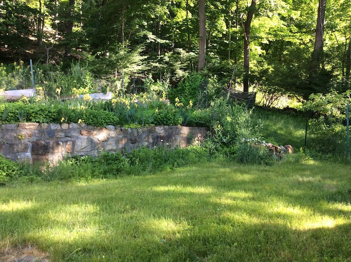 Somers home with views, and sacred gardens