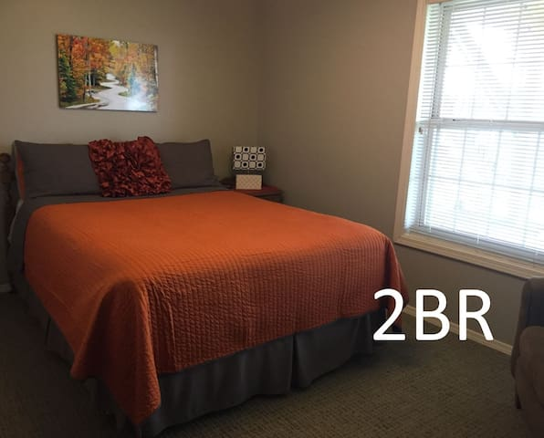 2BR - Lake View with Private Level & Patio