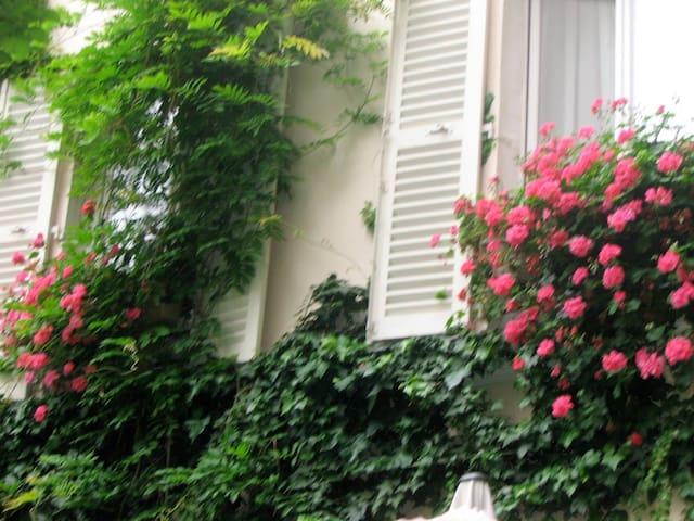 2-pièces ensoleillé et calme à Montmartre - Paris - Wohnung