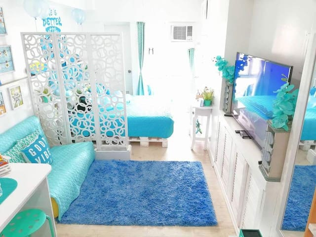 Taal View Relaxed Coastal Chic Inspired Unit
