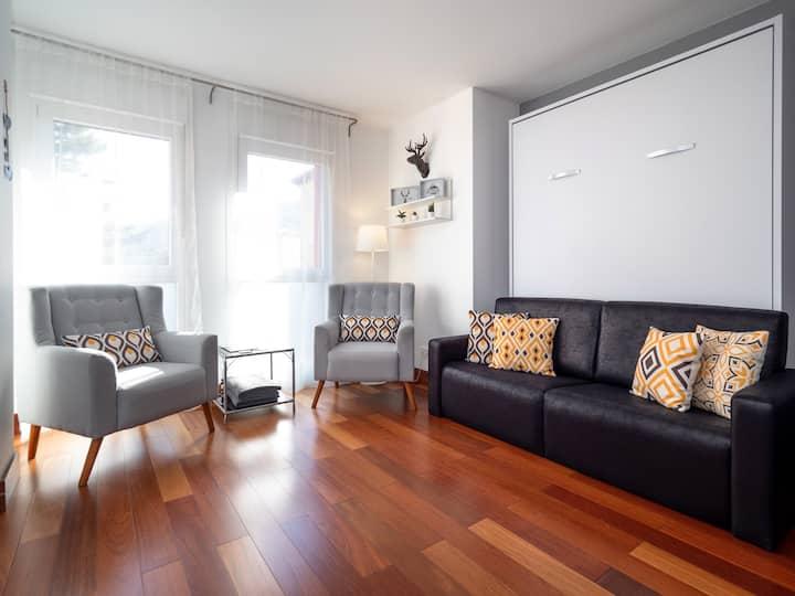 Apartamento en Boltaña, cerca de Ainsa y Ordesa