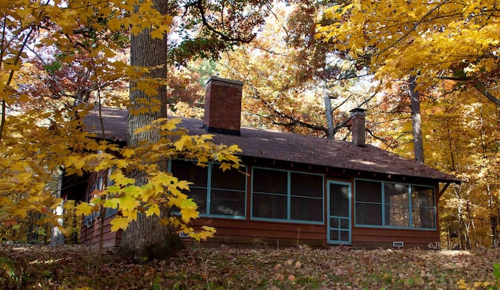 Hunt Hill Andrews Cabin