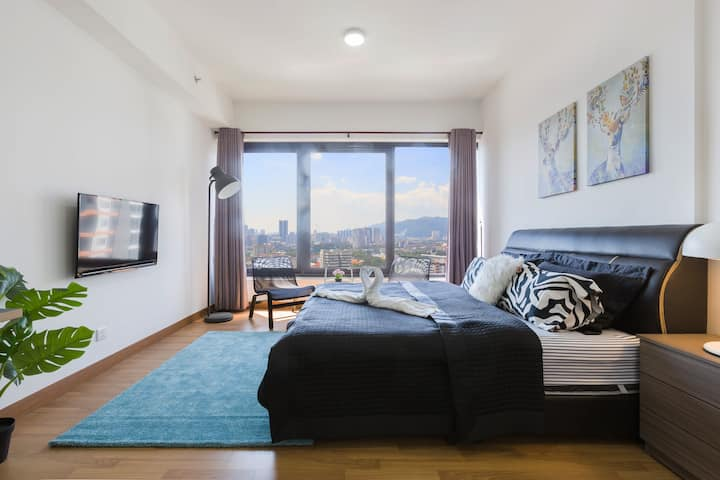 218 Macalister King Bed Studio ||Georgetown 乔治市景房