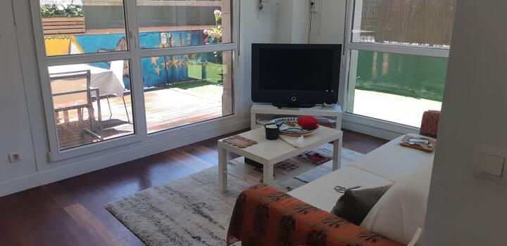 Singular apartamento con jardin en Plentzia