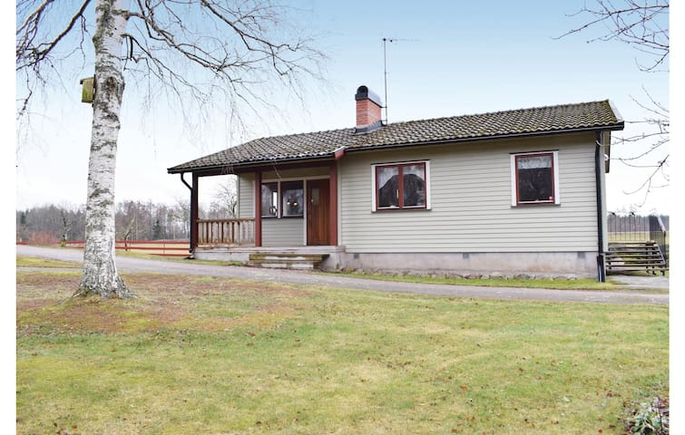 Holiday cottage with 2 bedrooms on 68m² in Läckeby