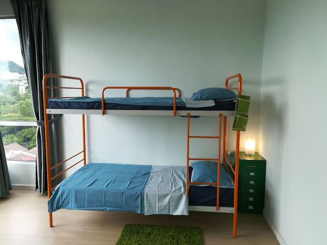 ptivate bathroom master bedroom,near DESA PARKCITY