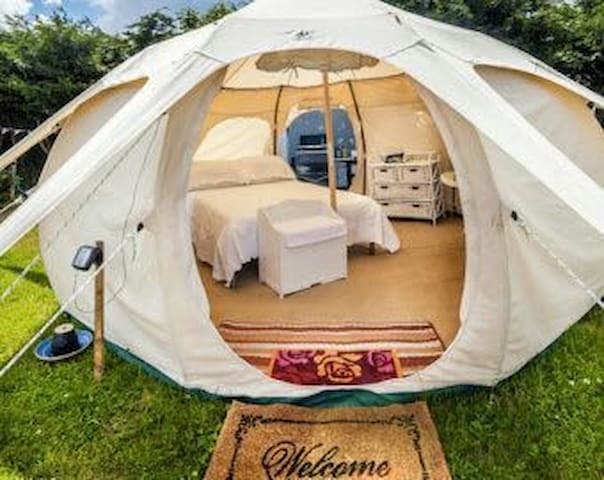 Mountain Lotus Bell Tent *glamping - Campell