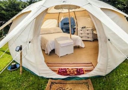 Mountain Lotus Bell Tent *glamping - Campell - Telt
