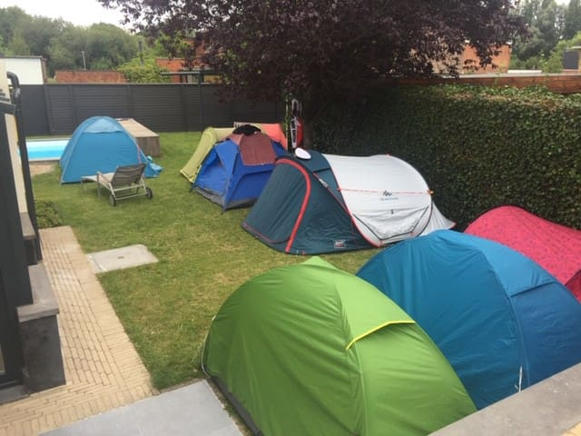 Camping of Tomorrowland 2020