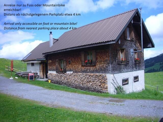 Alphütte Feldrederten