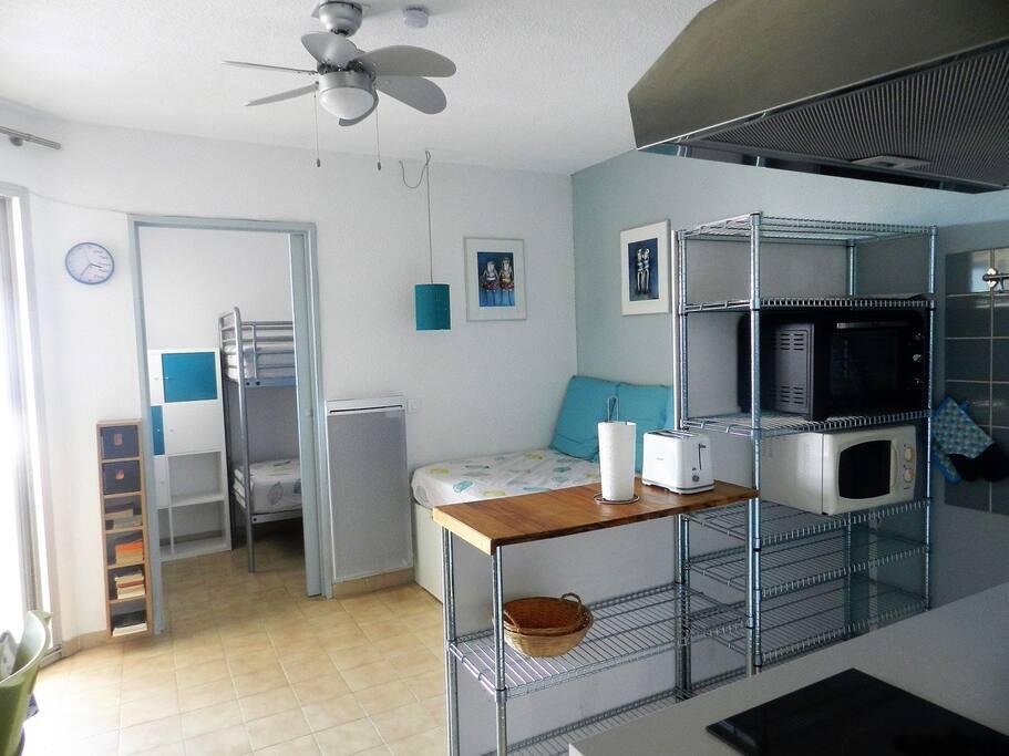 appartement loggia parking carnon plage 34 appartements louer carnon plages occitanie. Black Bedroom Furniture Sets. Home Design Ideas