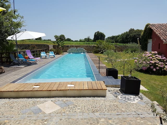 House comfortable quiet - 20m pool