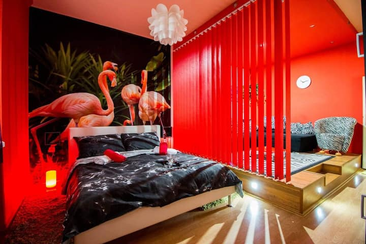 FLAMINGOS *** Apartman & Fitness & Parking OSIJEK