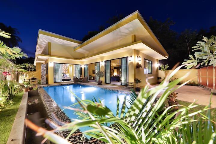 New.South Samui. 3 bedroom Pool villa Putahracsa