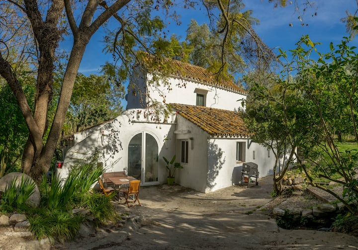 Casa Agua Molino, un oasis en Cádiz