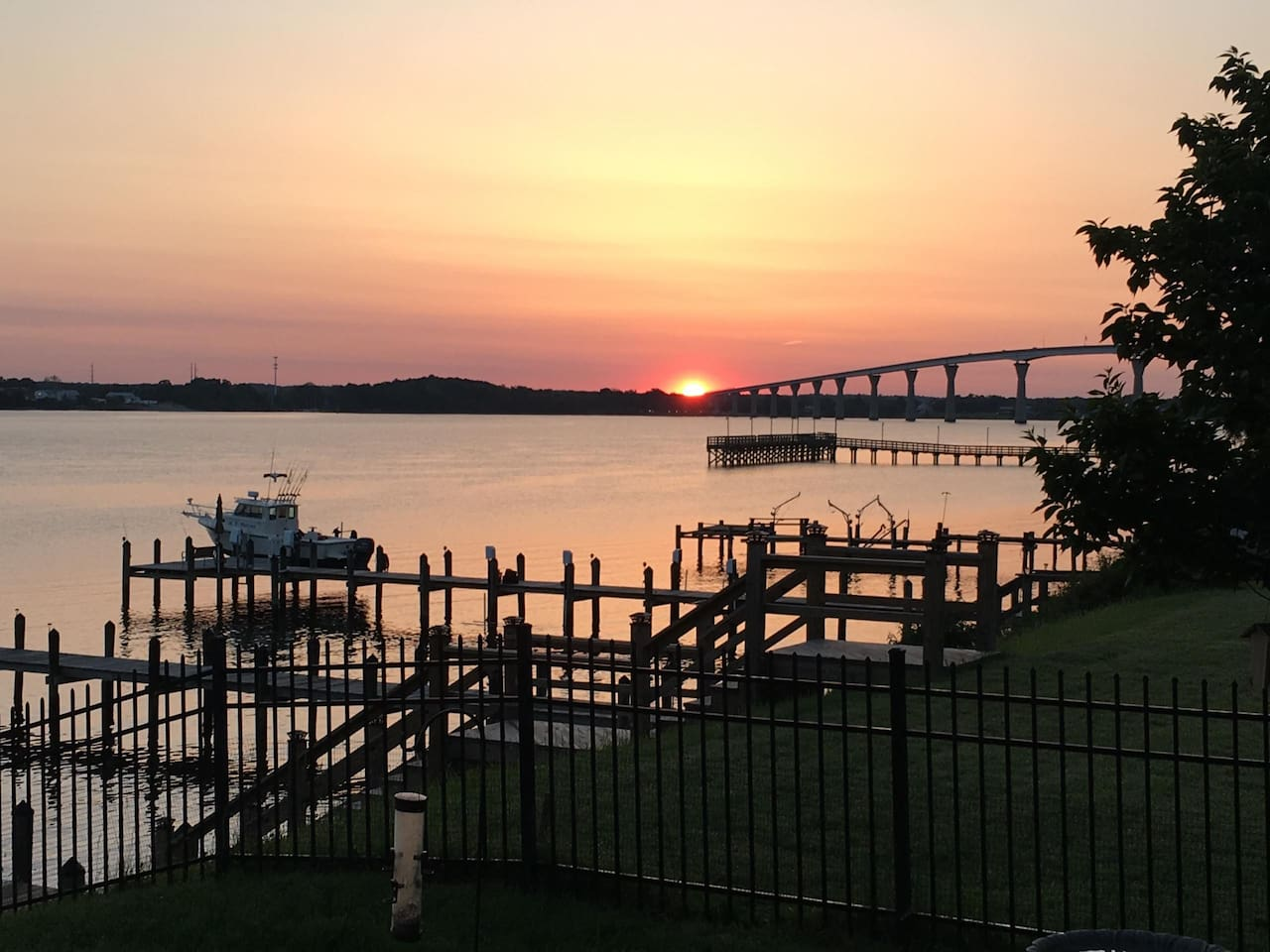 Sunrise on the Patuxent River - a beautiful start to every day