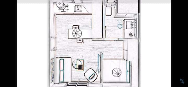 Apartamento Nuevo, Independiente, Cálido , Central