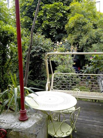 maison de ville avec jardin - Saint-Étienne - Huis