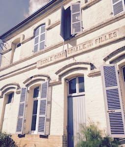 Ecole communale des filles - Le Boisle - Huis