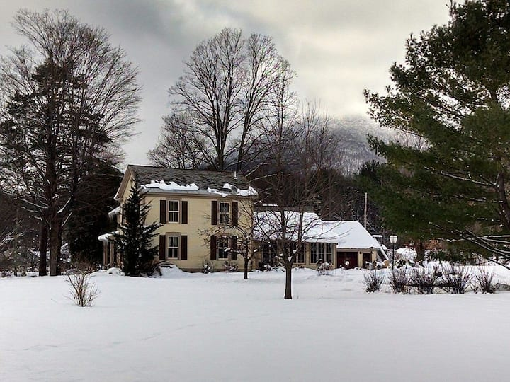 Historic Village dwelling; totally remodeled