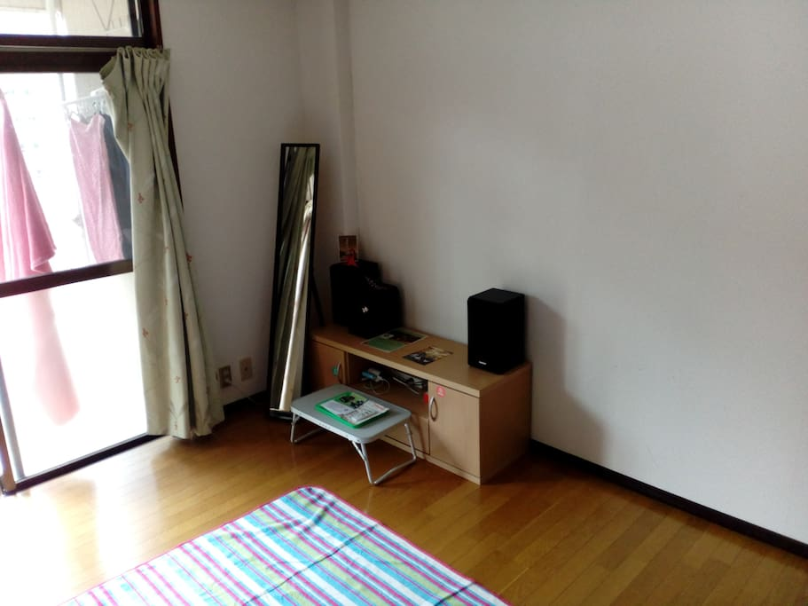 clean room close to castle(10mins by walk)