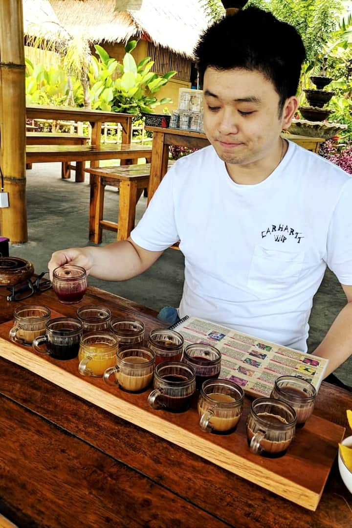 Try luwak coffee plantation