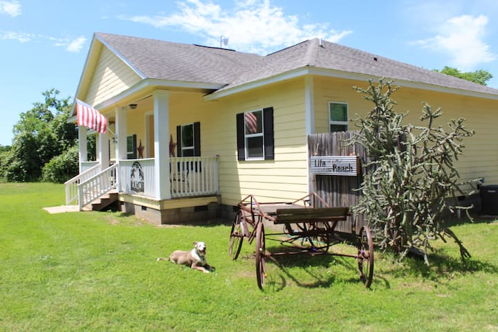 The Yellow House Ranch- A Country Experience