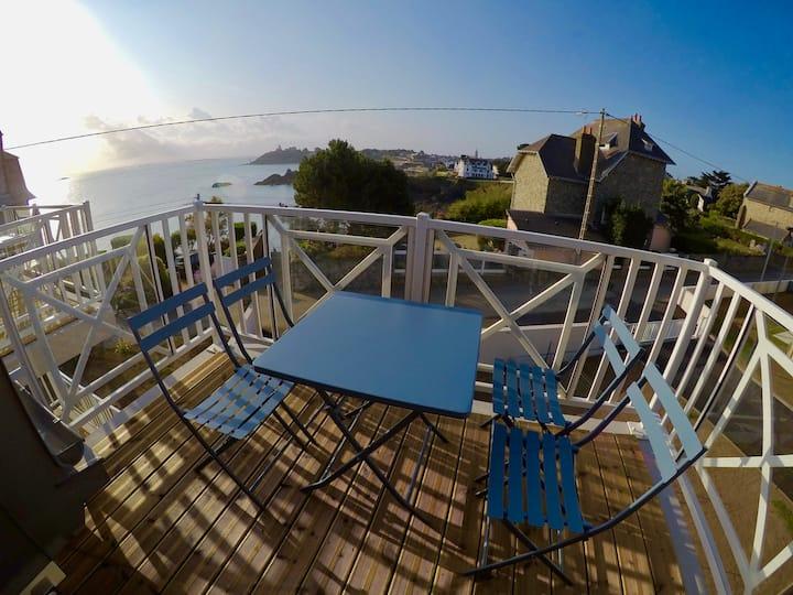 Appartement superbe vue mer à St Quay Portrieux