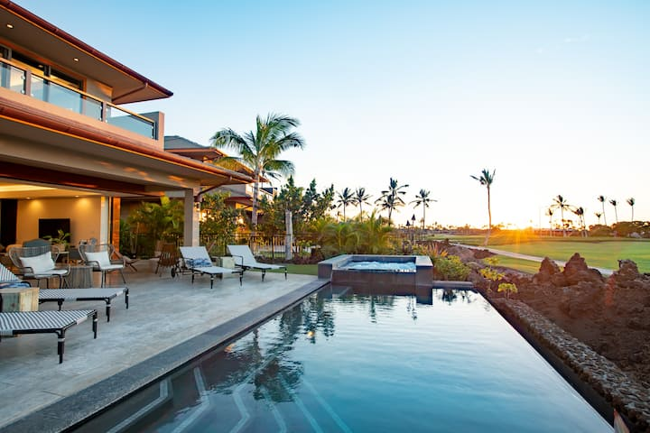 Mauna Lani Luxury Residence with Ocean View