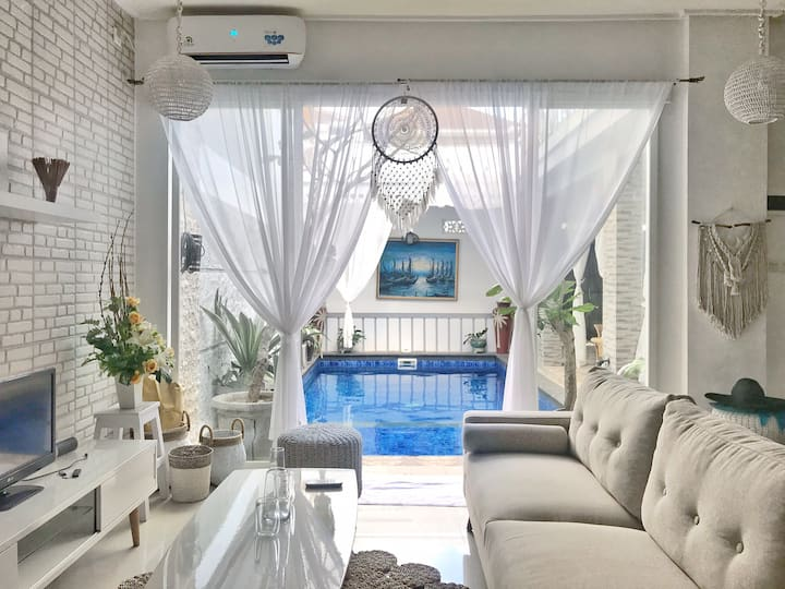 AESTHETIC and COMFY Private Petite Villa