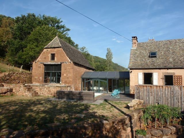 Maison d'Hôtes Paysanne entre Conques et Rodez