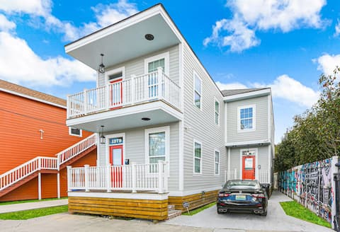 Modern Home in Treme/New Marigny - 1 Mile to FQ