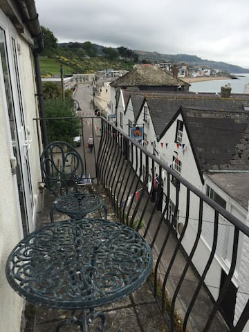 On the sea front! In the heart of Lymr Regis - Lyme Regis - Byt